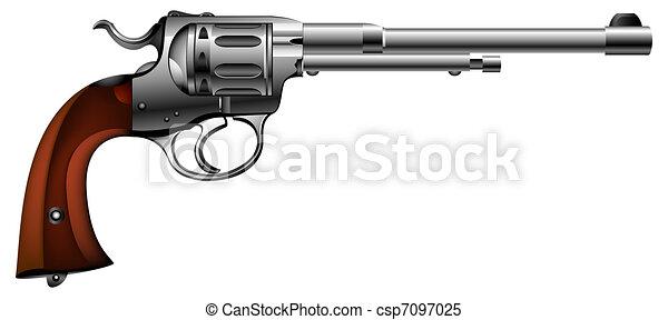 ancient gun - csp7097025