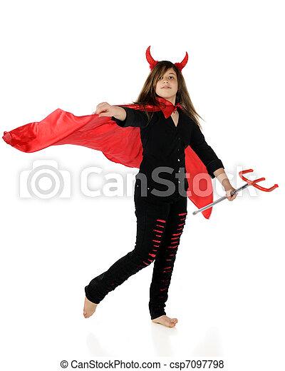 Preteen She-Devil - csp7097798
