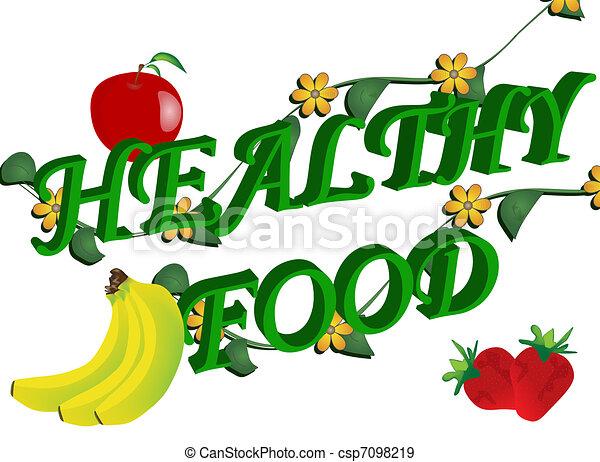 Eat Healthy Food Drawing Healthy Food Abstract