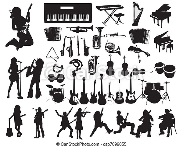 Music vector - csp7099055