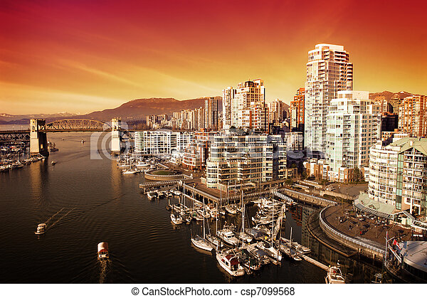 Vancouver Harbour - csp7099568