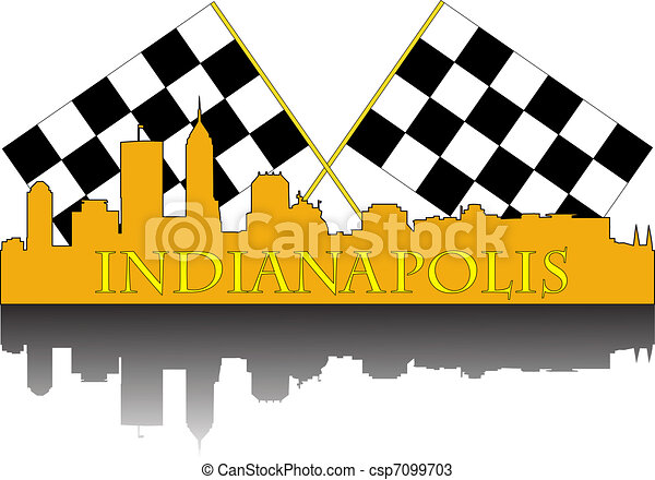 Indianapolis race - csp7099703