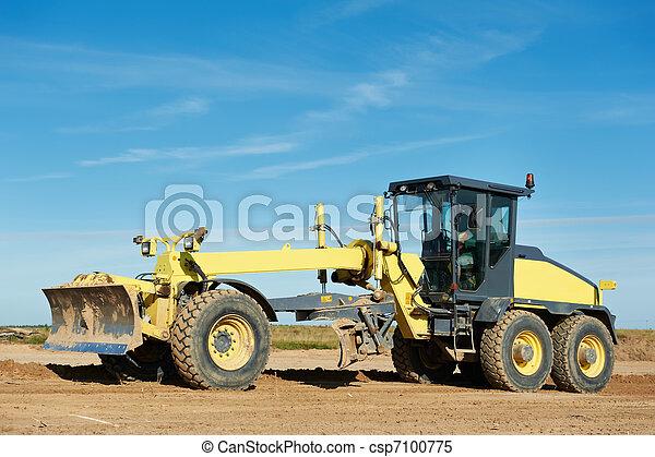 road grader bulldozer - csp7100775