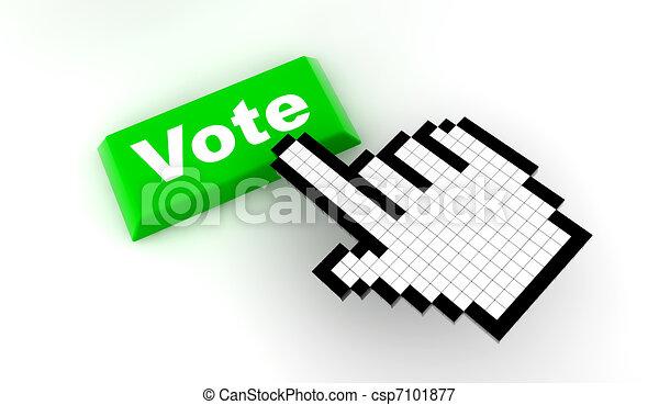 Cursor vote - csp7101877
