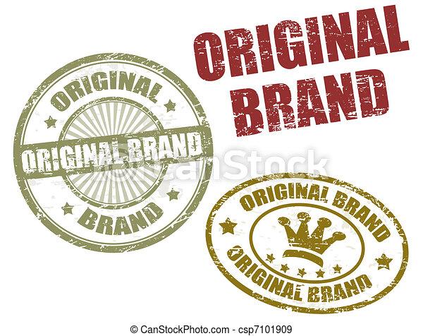 original brand stamps - csp7101909