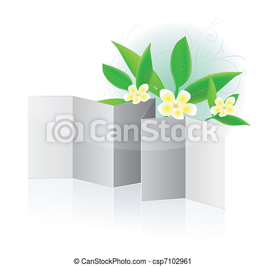 Leaflet blank - csp7102961