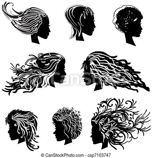 head hair - csp7103747