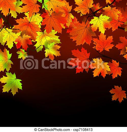 Thanksgiving day celebration. EPS 8 - csp7108413