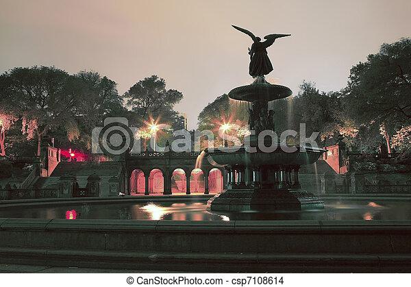 Bethesda Terrace Central Park NY - csp7108614