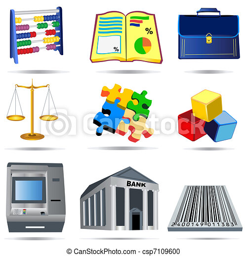 Accounting Icons Collection
