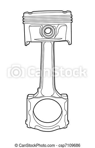 part of engine - csp7109686