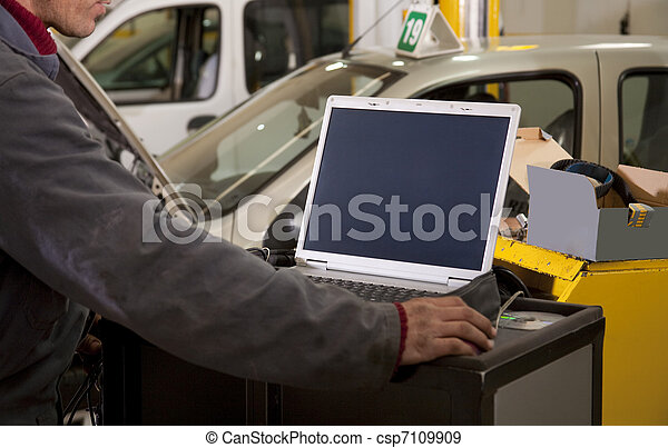 car repair - csp7109909