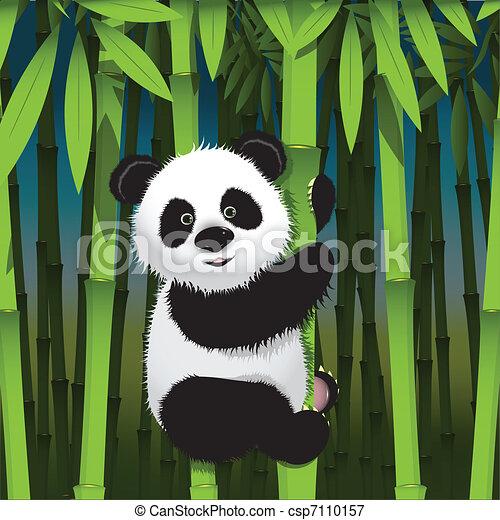 Illustrations vectoris es de panda illustration curieux - Panda a dessiner ...