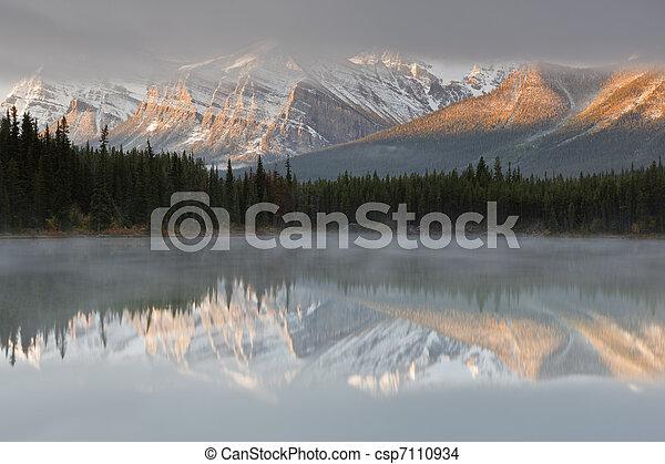 Herbert Lake, Canada - csp7110934