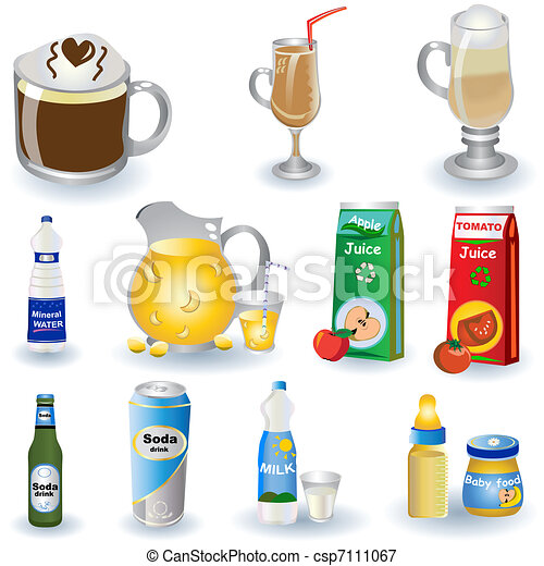 Variety Of Drinks 3 - csp7111067