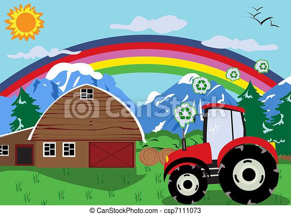 Tractor wheel - csp7111073