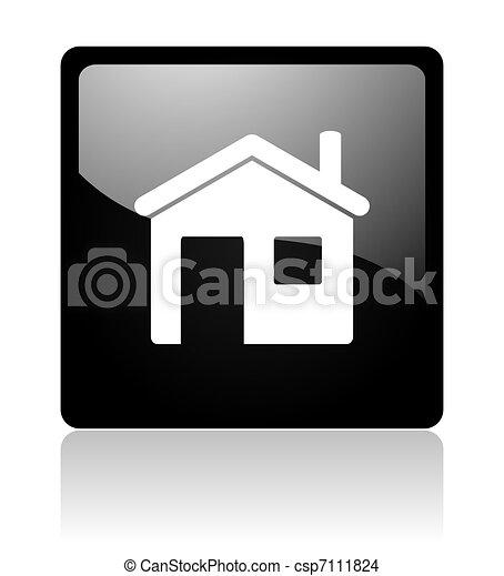 home icon - csp7111824