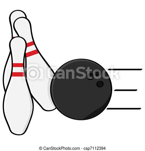 Bowling - csp7112394