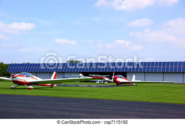 Small airfield - csp7115192