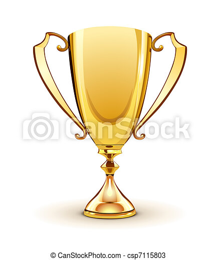 golden trophy - csp7115803