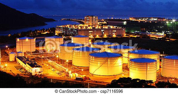 combustible, aviación, granja, tanque - csp7116596
