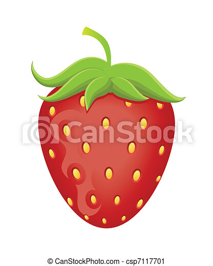Strawberry vector illustration - csp7117701