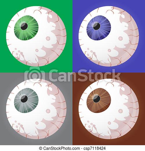Eyeball selection - csp7118424