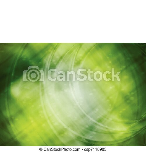 Vibrant green abstraction - csp7118985
