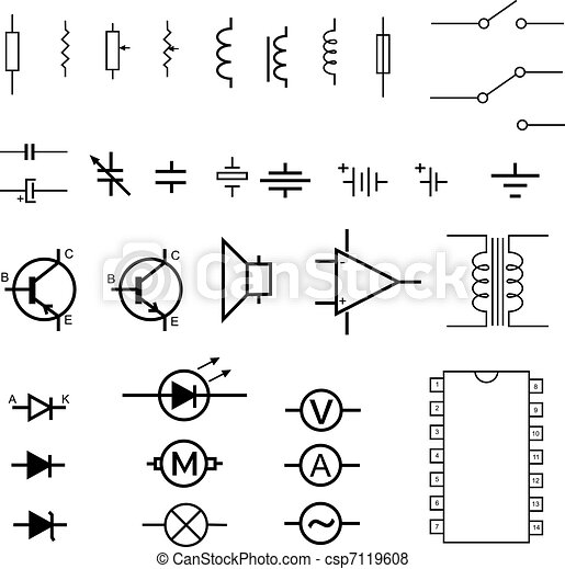 Delta Transformer Wiring Diagram as well Building Simple Resistor Circuits in addition Electrical Switch Schematic Symbol as well Terminals And Connectors in addition Basic Refrigeration Cycle. on industrial wiring symbols