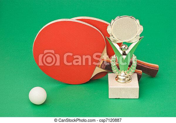 winning tennis tournaments - csp7120887