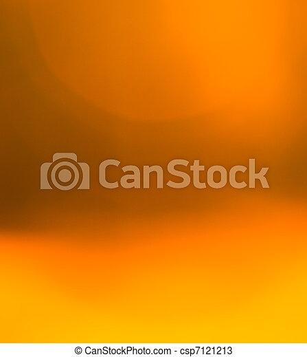 orange, abstrakt, hintergrund - csp7121213