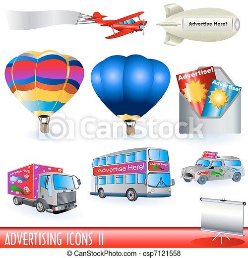 Advertising Icons 2 - csp7121558