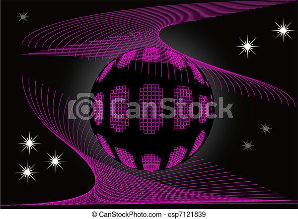 ball in cosmic web - csp7121839
