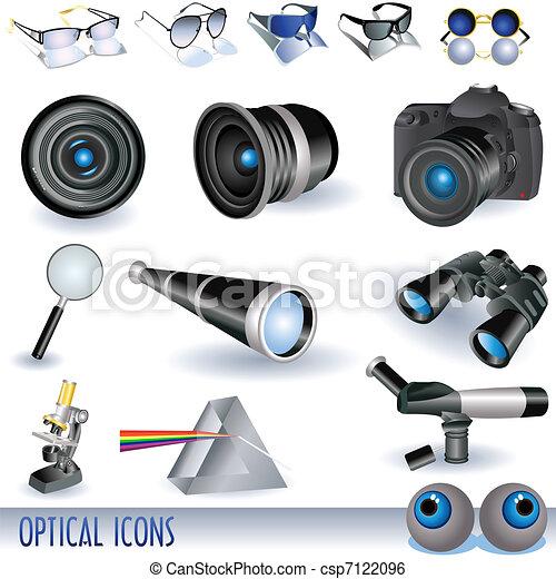Optical icons - csp7122096