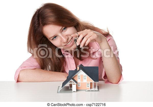 Estate agency client - csp7122716