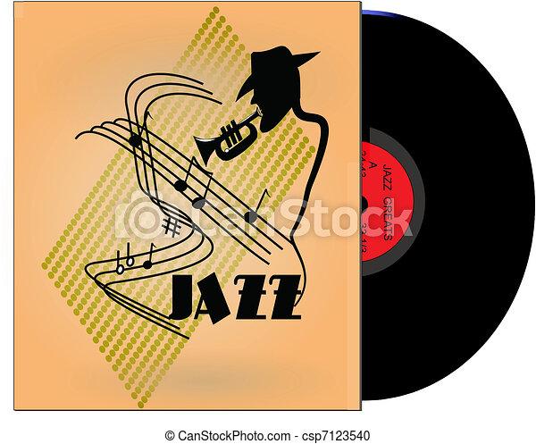 jazz greats album from 50\'s - csp7123540