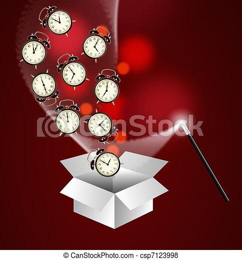 Time management concept - csp7123998