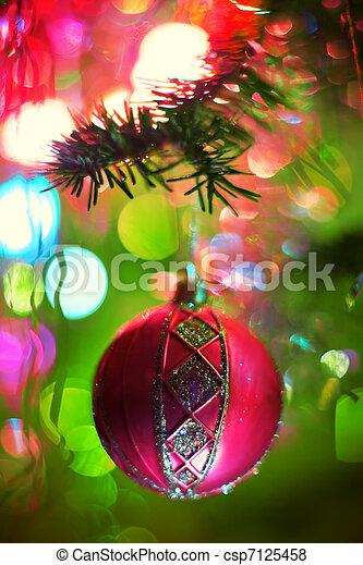 Christmas toy - csp7125458