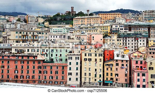Genoa, Italy - csp7125506
