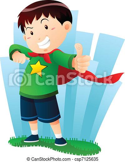 Action Boy - csp7125635