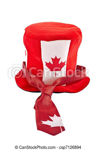 Canada Day national holiday apparels - csp7126894