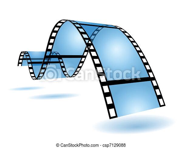 Film strip - csp7129088