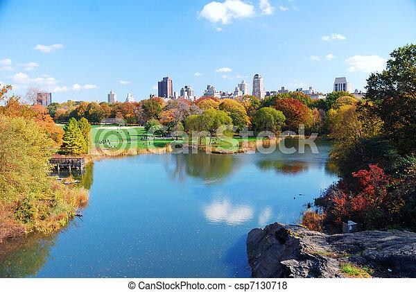 New York City Manhattan Central Park - csp7130718