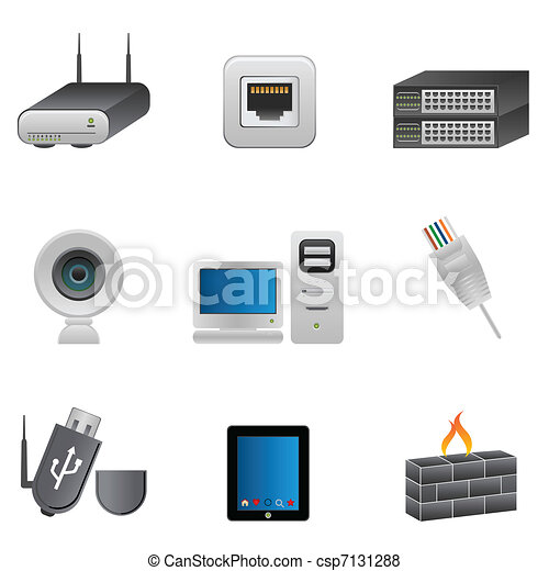 Network and computer devices - csp7131288