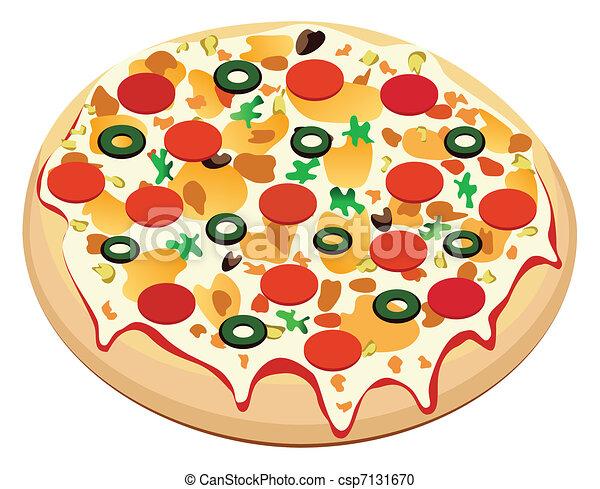 pizza  - csp7131670