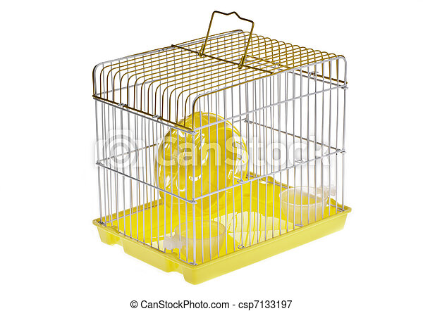 Clipart Hamster Cage Small Yellow Hamster Cage