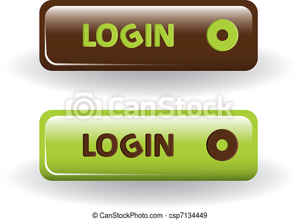 login buttons - csp7134449