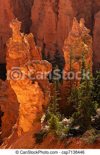 Bryce Canyon National Park Sunrise - csp7138446
