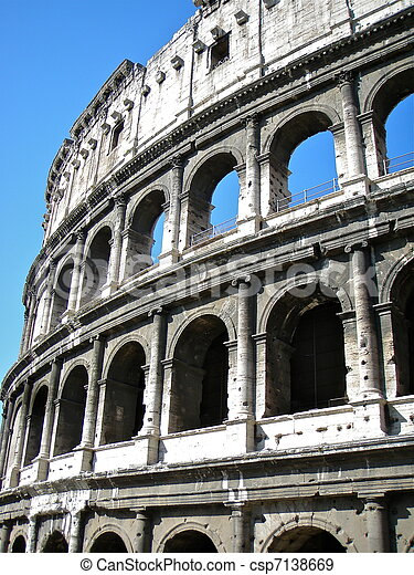 The Colosseum, or the Coliseum - csp7138669