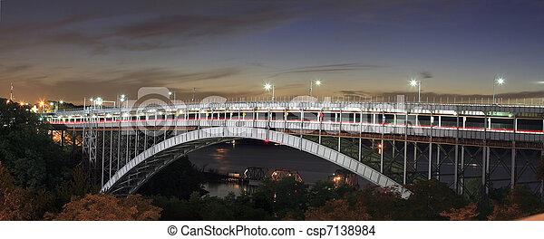 Henry Hudson Bridge - csp7138984